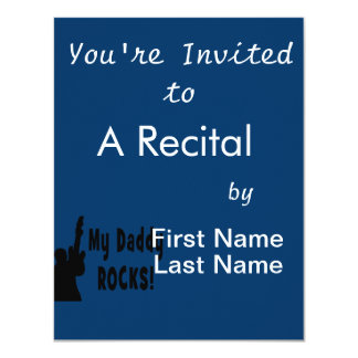 guitar rocks bk holding up electric daddy rocks personalized announcements