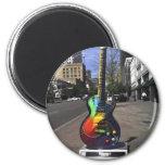 Guitar Series 6 Cm Round Magnet