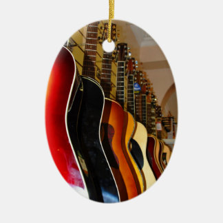 Guitar Shop Christmas Ornament