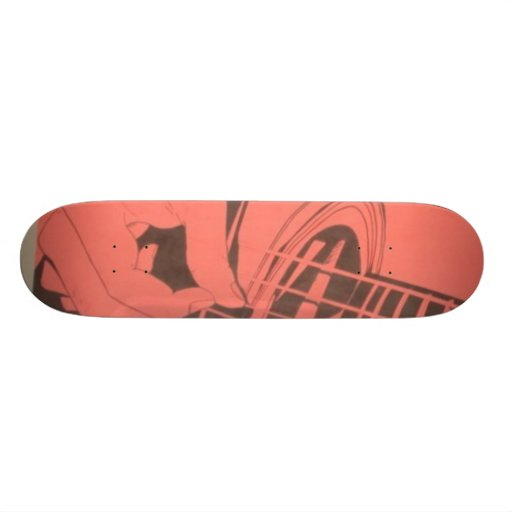 guitar skateboards