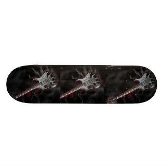Guitar - Skateboard