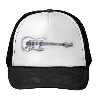 guitar sketch heavy distortion cap