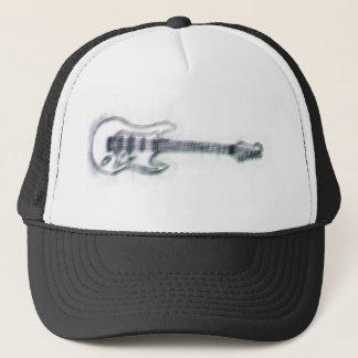 guitar sketch heavy distortion trucker hat