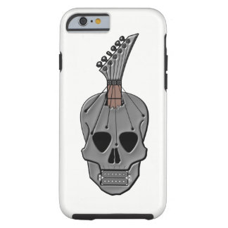 Guitar Skull Music Tough iPhone 6 Case
