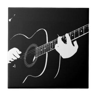 guitar small square tile
