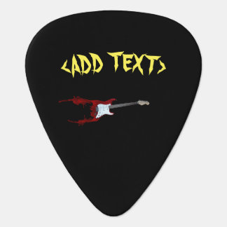 Guitar Splash Plectrum