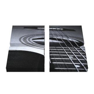 Guitar Strings Canvas Print