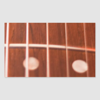 Guitar strings stickers
