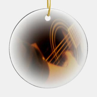 guitar strum christmas ornament
