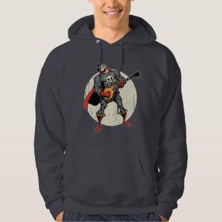 Guitar Superhero Hooded Pullovers
