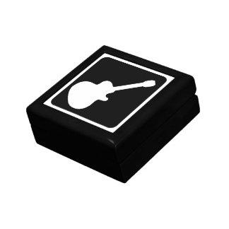 guitar symbol gift box
