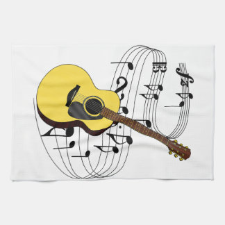 Guitar Tea Towel