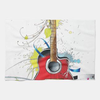 Guitar Tea Towel