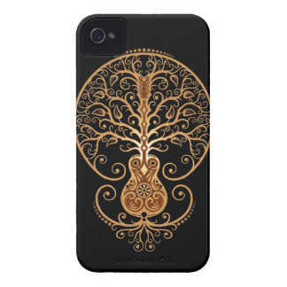 Guitar Tree Brown and Black Blackberry Cases