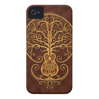 Guitar Tree Golden Brown Case-Mate Blackberry Case