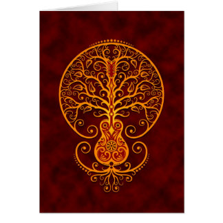 Guitar Tree – Golden Red Cards