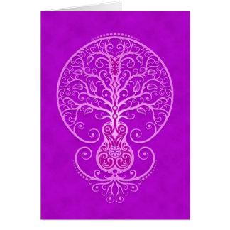 Guitar Tree – purple Cards