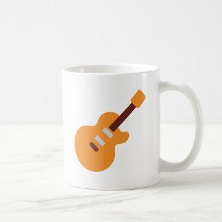 Guitar - Twitter Emoji Coffee Mug