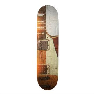 Guitar Vibe 1- Single Cut 59 18.1 Cm Old School Skateboard Deck