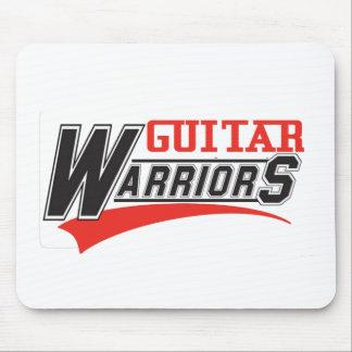 Guitar warriors design mouse pad