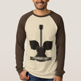 Guitar Wings T-shirt - Customized