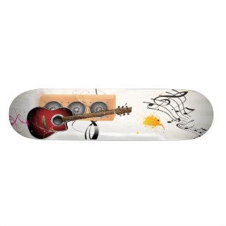 Guitar With Speaker Custom Skateboard
