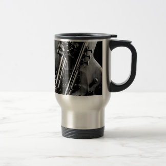 Guitar with Trumpet Travel Mug