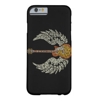 Guitar with wings barely there iPhone 6 case