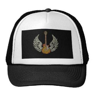 Guitar with wings cap