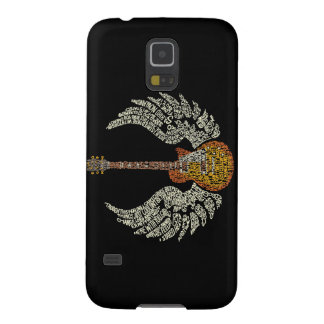 Guitar with wings galaxy s5 cover