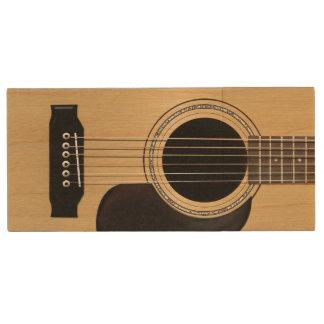 Guitar Wood USB Flash Drive