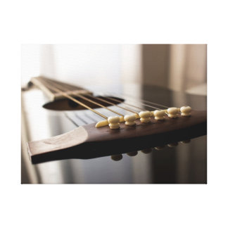 Guitar Wrapped Canvas Wall Photo