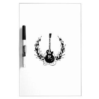Guitar Wreath Dry Erase Board
