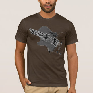 Guitarist Fashion Lefty WHT #2 T-Shirt