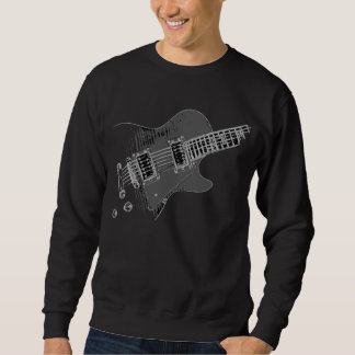 Guitarist Fashion Righty WHT #2 Sweatshirt
