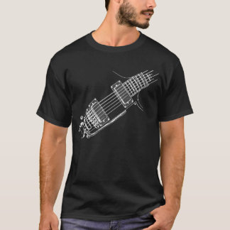 Guitarist Fashion Righty WHT T-Shirt