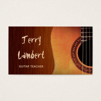 Guitarist Guitar Player Teacher Stylish Wood Look