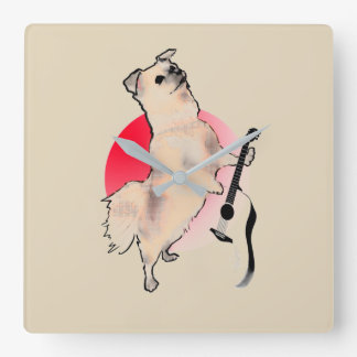 Guitarist Kato Wall Clocks