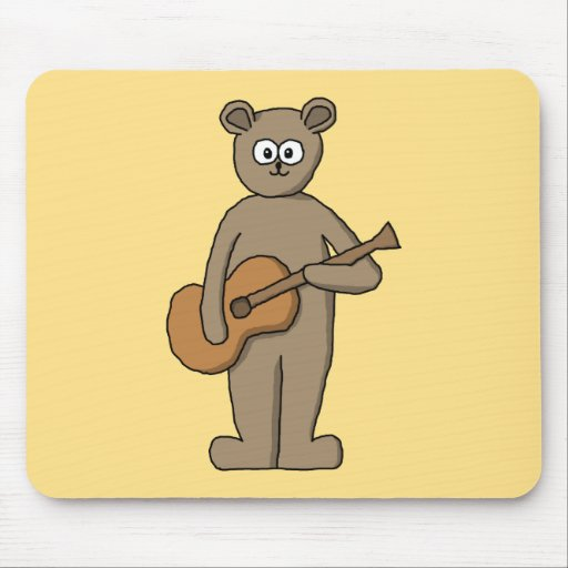 Guitarist. Mouse Pad