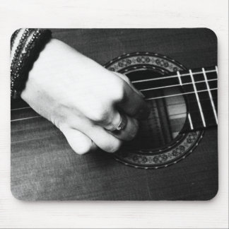 Guitarist Mouse Pad