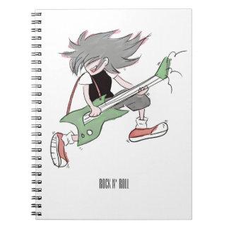 Guitarist Notebook