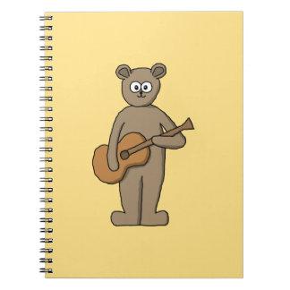Guitarist. Notebook