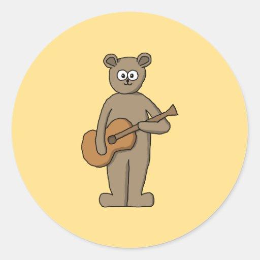 Guitarist. Sticker