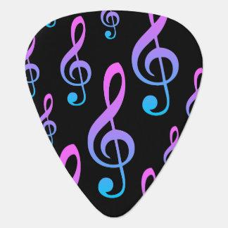 Guitarist's Treble Clef Musical Symbol Plectrum