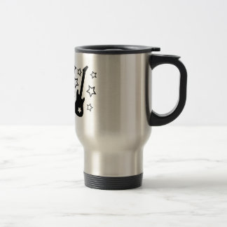 Guitars and Stars Travel Mug
