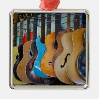 Guitars Galore Christmas Ornament