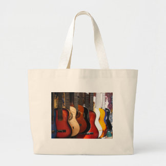 Guitars Large Tote Bag