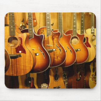 Guitars Mouse Mat