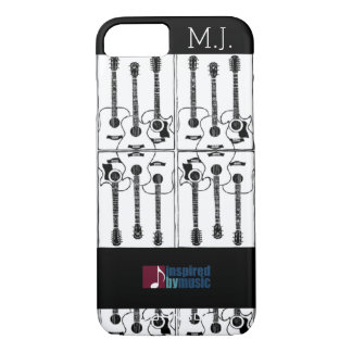 guitars music-inspired-design iPhone 7 case
