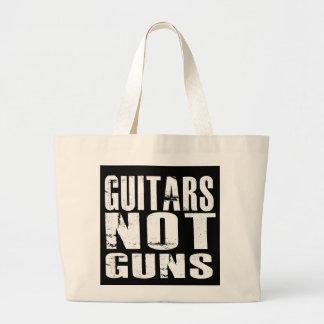 Guitars Not Guns Jumbo Tote